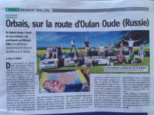 We made the paper | Orbais, Belgium