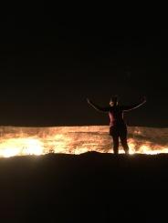 Darvaza gas crater   Darvaza, Turkmenistan