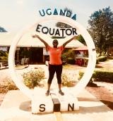 The Equator   Masaka Road, Uganda