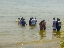 Water baptisms | Lake Victoria, Uganda